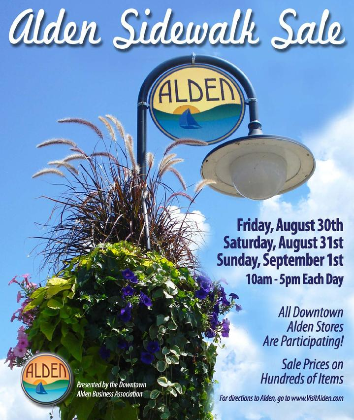 2019 August Downtown Alden Sidewalk Sale